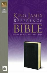 Kjv Reference Bible Giant Print Personal Size By Zondervan Mint Condition