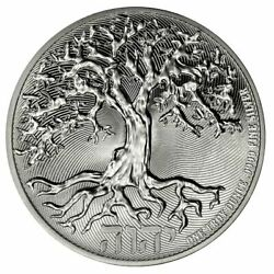2021 1 Oz Tree Of Life Silver Coin