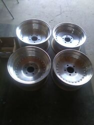 Centerlines Wheels 15x7 15x8 1/2 Chevy 3.5 Back Space N H R A Old School Vintage