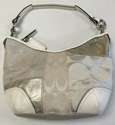 REDUCED Coach Hobo Bag Light Color Patchwork Was $52 Now $42 $42.00