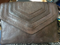 Latico Sage Brown Leather Messenger Crossbody Wallet Small Bag 3151 159.95 New