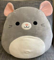 New Squishmallow Misty The Mouse 16pillow Plush Super Soft Toy Pet Kellytoy