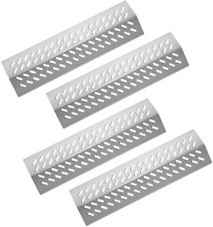 Damile Stainless Steel Grill Heat Plates Shield Burner Cover Flame Tamer