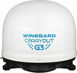 Winegard Company White Gm-9000 Carryout G3 Portable Automatic Satellite Antenna
