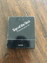 Vintage Matchbook Matches Top Of The Sixandrsquos A Restaurant Above It All New York
