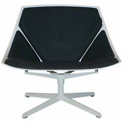 Rrp Andpound2265 Fritz Hansen Metal Frame Space Lounge Chair By Jehs And Laub Very Cool