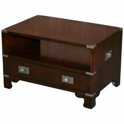 Rrp £2400 Kennedy Harrods London Military Campaign Television Stand Drawers Tv