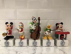 Hallmark 2013 Disney Wireless Band. Complete Set Of 5. Sound And Motion Excellent