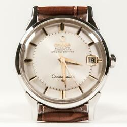 Omega Constellation Shaved Dial