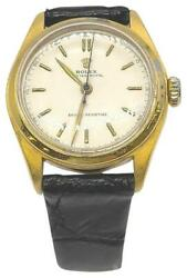 Rolex 31mm Gold Plated Oyster Royal Watch 863013