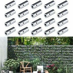 Muzata Cable Clamps Linear Wall Mount T316 Stainless Steel For Trellis Vines ...
