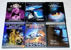 Lexx Series One 1.0, Contact, Total Recall, Mutant Chronicles... Sci-fi Dvd Lot