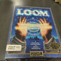Loom Pc Game W/ Hint Book For Atari St