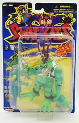 Swat Kats Dr. Viper Repositionnable 6 Action Figurine And Armes 1994 Remco Anddeg