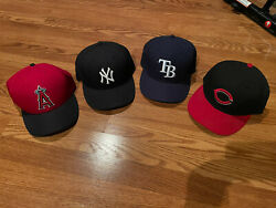 Lot Of 7new Era Fitted Mlb Hats