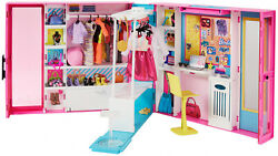 Barbie Dream Closet 30+ Accessory Pieces Doll Clothes Outfits Dolls Kids Playset