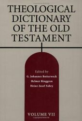 Theological Dictionary Of Old Testament, Vol. 7 By G. Johannes Botterweck Mint