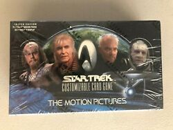 Star Trek Ccg The Motion Pictures Booster Box Card Game Decipher - Sealed