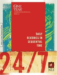 24/7 A One Year Chronological Bible By Tyndale - Hardcover