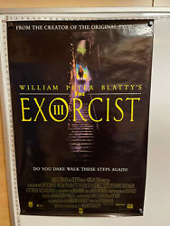 The Exorcist Iii 3 William Peter Blatty Rolled Movie Poster 26x38