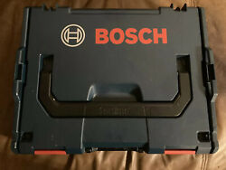 Bosch Lboxx-1 Sortimo Stackable Plastic,tool Box,14 X 17 Excellent