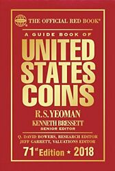 A Guide Book Of United States Coins 2018 Official Red By R S Yeoman - Hardcover