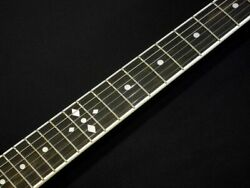 Zemaitis A24su Dot Diamond Cherry Red With Hard Case Ships Safely From Japan