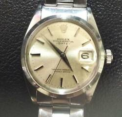 Rolex Manual Winding Men Oyster Perpetual Date 1500 Need Oh Tk1794