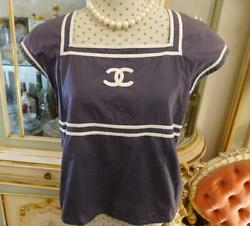 Rare Authentic Vintage Coco Short Sleeve Tops Size 42