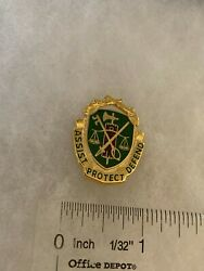 Authentic Us Army Military Police Mp Corps Di Dui Crest Insignia Nh