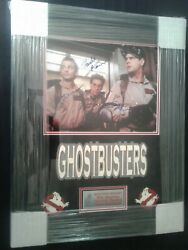 Gohstbusters, Cast Signed By 3 13 X 19 Color Print, Custom Framed, With C.o.a