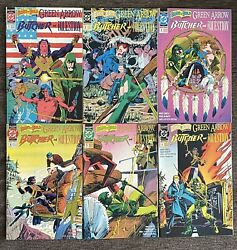 Dc 1991 Brave And The Bold Vol. 2 1-6 Green Arrow Butcher Question 6 Book Lot