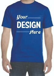 Custom Made T-shirt Print Your Text Logo Or Photo