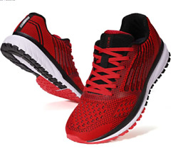 Menand039s Supportive Running Shoes Cushioned Lightweight Athletic Sneakers