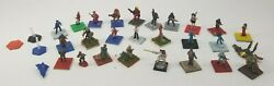 Vintage Lot Of 30 Ral Partha And Other Dungeons And Dragons Miniature Figurines