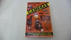 Price Guide To Cameras 1985-86 Antique And Classic Still By James M. And Joan