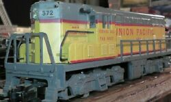 Vintage S Scale American Flyer Union Pacific Diesel 372 Serves West A.c. Gilbert
