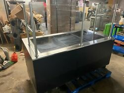 2015 Hill Phoenix Cwc6h Hot Food 6and039 Heated Pizza Warmer Service Display Case Usa