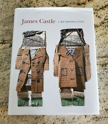 ✅ James Castle Retrospective Rare Oop Art Book Hardcover With Dust Jacket And Dvd