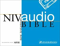 Niv Audio Bible New Testament Voice Only Cassette By Zondervan Brand New