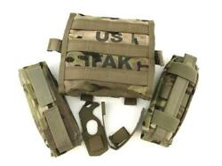 Military Issued Multicam Complete Ifak Ii Kit Improved First Aid Kit Ii