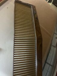 1982-1990 Chevy Caprice Eandg Chrome And Gold Custom Grille Discontinued Like New