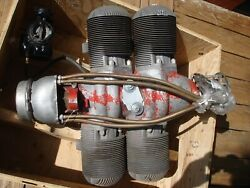 Vintage Mcculloch 0-100-1 Racing Engine Military Drone Motor 4318