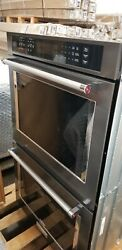 Kitchenaid 30andrdquo Double Wall Oven True Convection Black Stainless