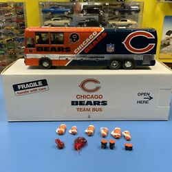 Danbury Mint Chicago Bears Team Bus No Papers Pre-owned