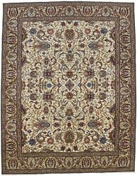 Rare Hand Knotted Floral Style 10x13 Vintage Wool Oriental Rug Home Decor Carpet