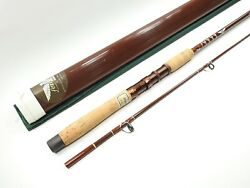 Fenwick Fiberglass Spinning Rod. Pls65. 6 1/2and039. Made In Usa. W/ Tube And Sock.