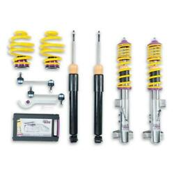 Kw Suspensions 15220012 Height Adjustable Stainless Steel Coilovers With Adjusta