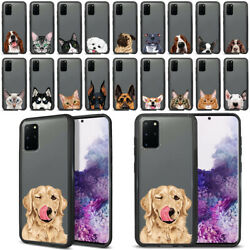 For Samsung Galaxy S20 Plus 6.7quot; 2020 Dog Cat Hybrid Case TPU Bumper Cover
