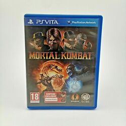 Mortal Kombat For Sony Playstation Ps Vita In Good Condition   Complete French